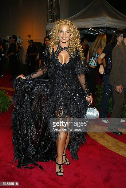 Niurka Marcos attends the 1st Annual Premios Juventud Awards at the James L Knight Center September 23 2004 in Miami Florida