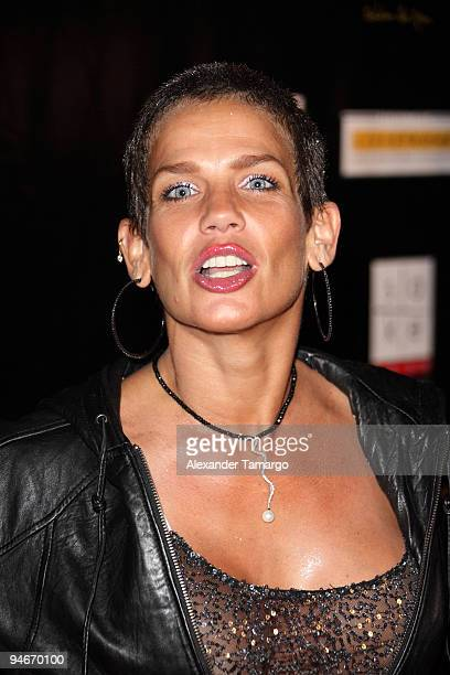 Niurka Marcos attends the Yellow Nights event to benefit the Lance Armstrong Foundation on December 16 2009 in Miami Florida