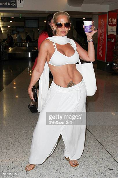 Niurka Marcos is seen at LAX on June 03 2016 in Los Angeles California