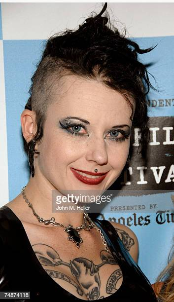 Nixon Suicide one of the Suicide Girls attends the Red Carpet LA Premiere of The Wizard Of Gore the Los Angeles Film Festival at the Majestic Crest...