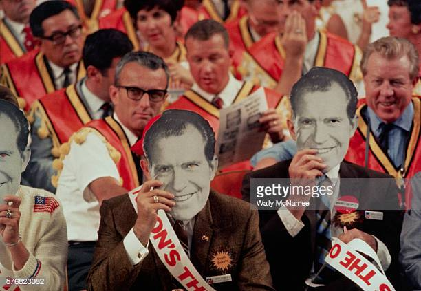 Nixon Supporters at the 1968 Republican National Convention