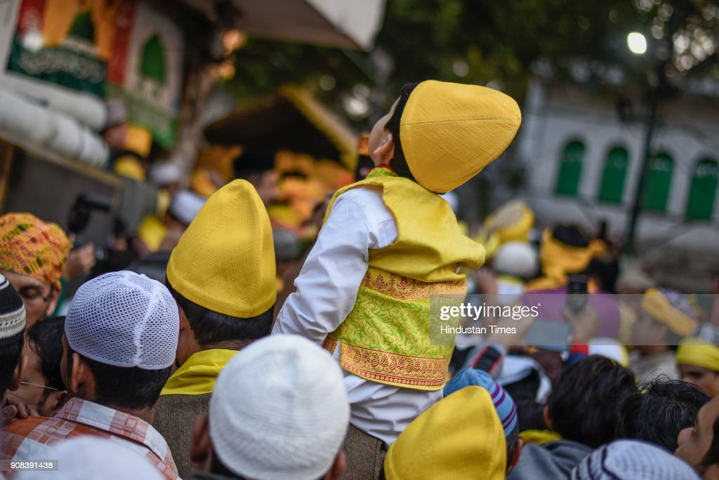 Sufi Basant Celebrations At Nizamuddin Dargah