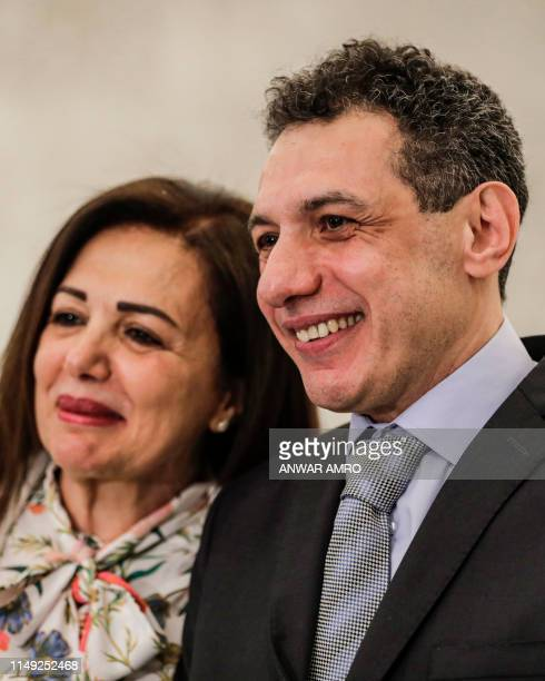 Nizar Zakka a Lebanese national and US resident arrested in Iran in 2015 and sentenced to 10 years in jail on espionage charges poses for a picture...