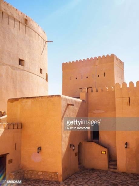 nizwa fort, oman - arabian peninsula stock pictures, royalty-free photos & images