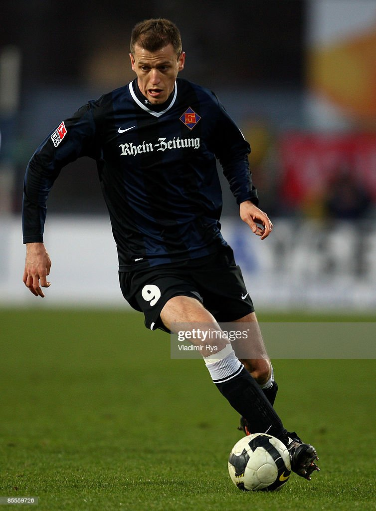 TuS Koblenz v Hansa Rostock - 2. Bundesliga : News Photo