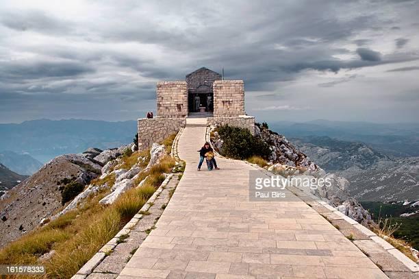 Njegos Mausoleum in  Lovcen National Park