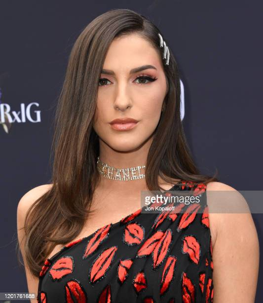 Njomza attends Instagram's GRAMMY Luncheon on January 24 2020 in Los Angeles California