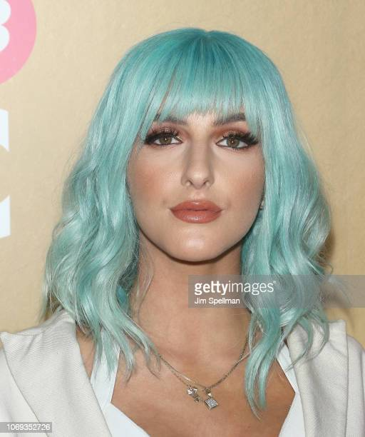 Njomza attends the Billboard's 13th Annual Women in Music event at Pier 36 on December 6 2018 in New York City