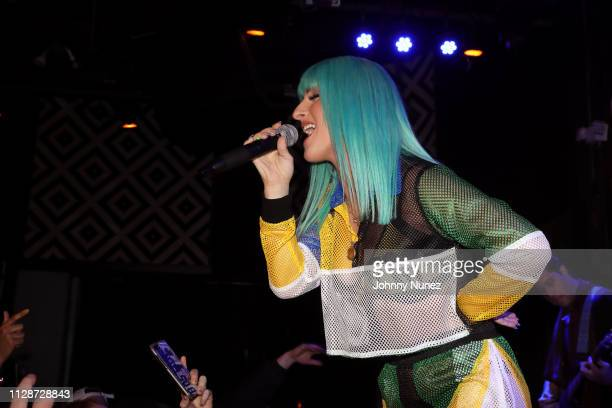 Njomza performs at SOB's on March 4 2019 in New York City