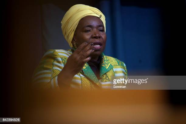 Nkosazana DlaminiZuma during the Gordon Institute of Business Science forum in Illovo on August 29 2017 in Johannesburg South Africa DlaminiZuma...
