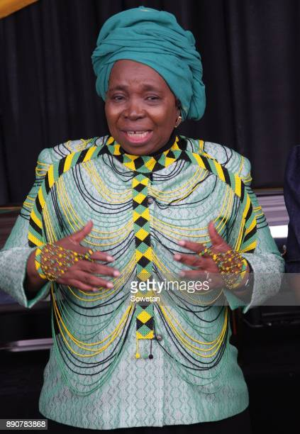 Nkosazana DlaminiZuma during the prayer party organized by the Dlamini Clan in her home Bulwer on December 10 2017 in KwaZuluNatal South Africa...