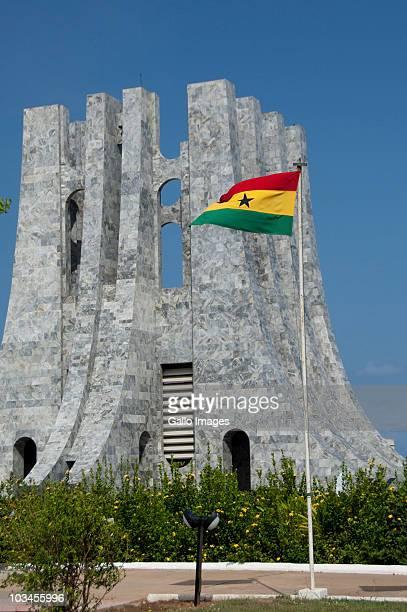 nkrumah mausoleum, accra, ghana - hauptstadt stock-fotos und bilder