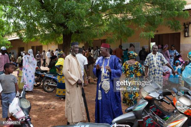 "NMalian are seen at a pooling station during the first round of the Presidential election on July 28, 2013 in Bamako, Mali.""nIn January 2012 a Tuareg..."