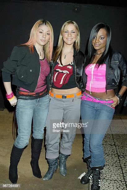 Nme Carling Awards At The Po Na Na Hammersmith London Britain 13 Feb 2003 Sugababes