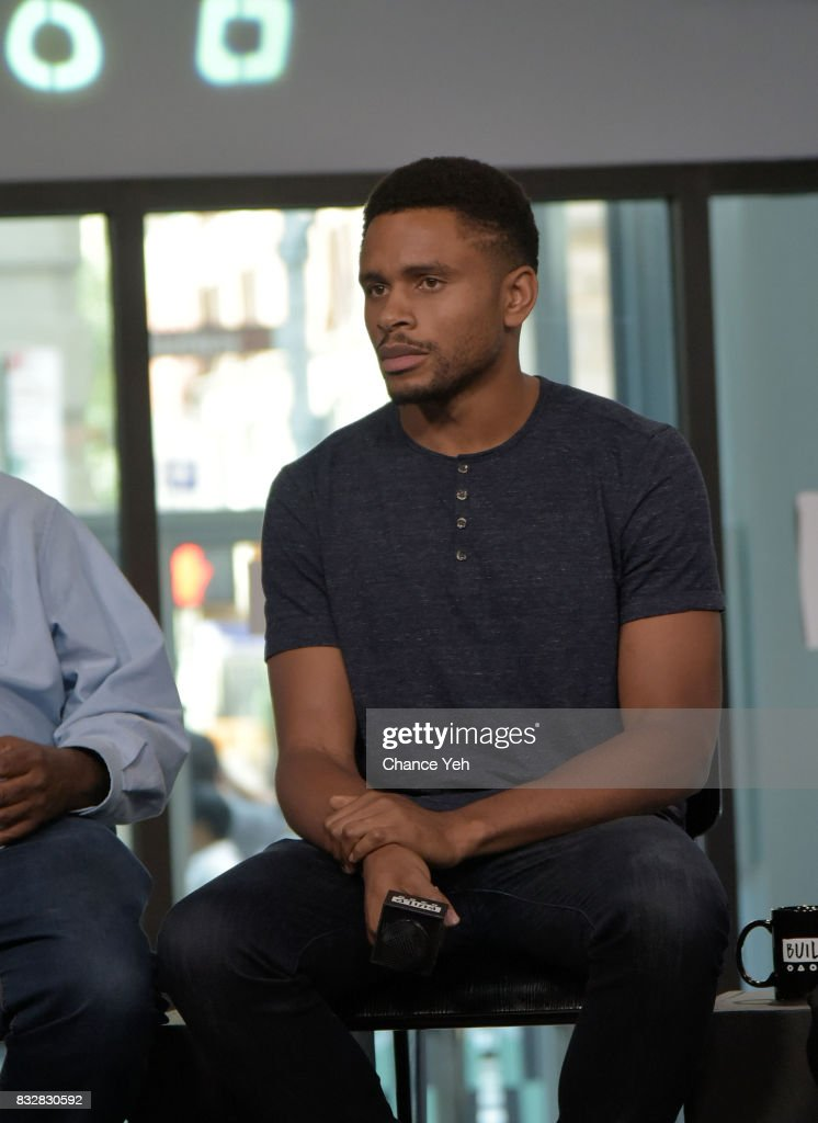 Nnamdi Asomugha attends Build series to discuss 'Crown Heights' at Build Studio on August 16, 2017 in New York City.