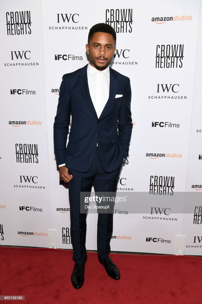 Nnamdi Asomugha attends the 'Crown Heights' New York premiere at Metrograph on August 15, 2017 in New York City.