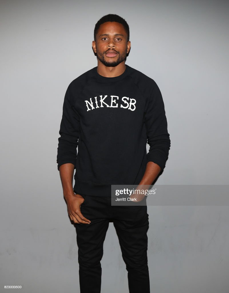 Nnamdi Asomugha backstage during VAN JONES WE RISE TOUR powered by #LoveArmy at Hollywood Palladium on July 26, 2017 in Los Angeles, California.