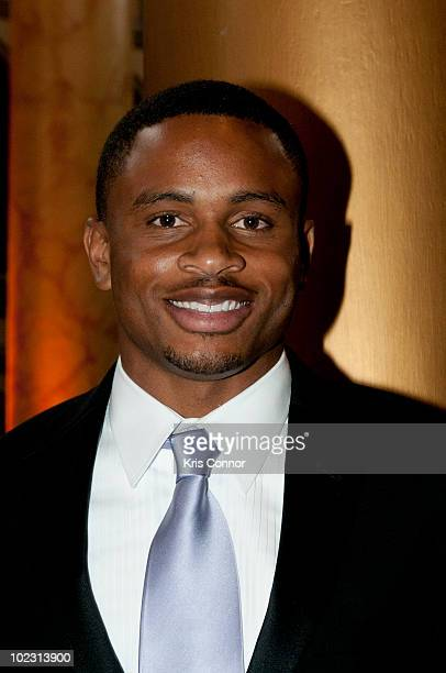 Nnamdi Asomugha poses for a photo during the 38th Annual Jefferson Awards at National Building Museum on June 22 2010 in Washington DC