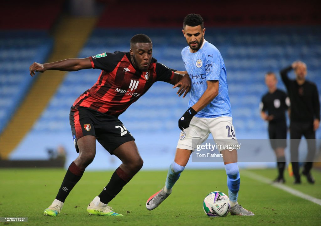 Manchester City v AFC Bournemouth  - Carabao Cup Third Round : News Photo