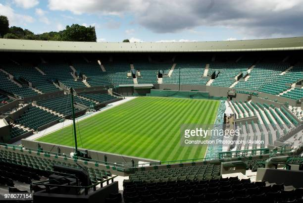No 1 Court All England Lawn Tennis Club Wimbledon London UK 2008