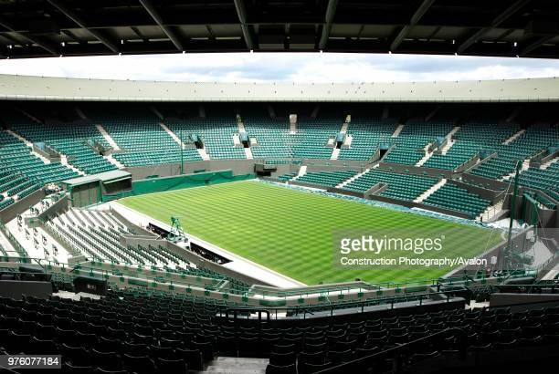 No 1 Court, All England Lawn Tennis Club, Wimbledon, London, UK, 2008.