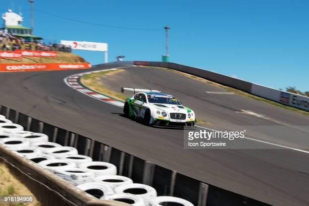 No 17 Bentley Team MSport Bentley Continental GT3 driven by Steven Kane / Guy Smith / Jules Gounon through the esses at The LiquiMoly Bathurst 12...