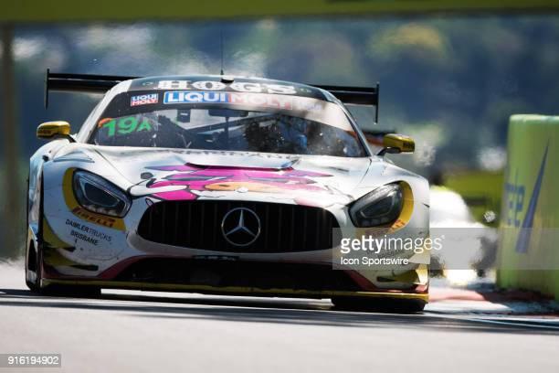 No 19 Nineteen Corp Mercedes GT driven by David Reynolds / John Martin / Liam Talbot / Mark Griffith at The LiquiMoly Bathurst 12 Hour Endurance Race...