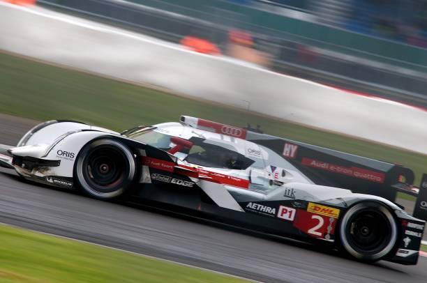 No 2 Audi Sport Team Joest R18 e-tron quattro, FIA WEC Silverstone 2014