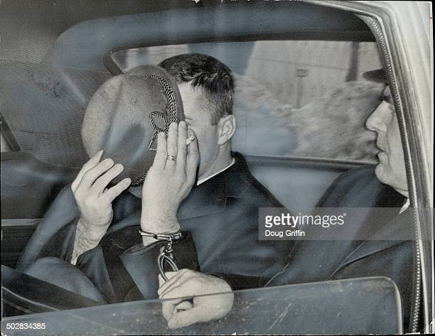 No 3 on FBI's mostwanted list Richard Paul Anderson is taken to Don Jail handcuffed to Det James Graham as police cadet drives car from headquarters...