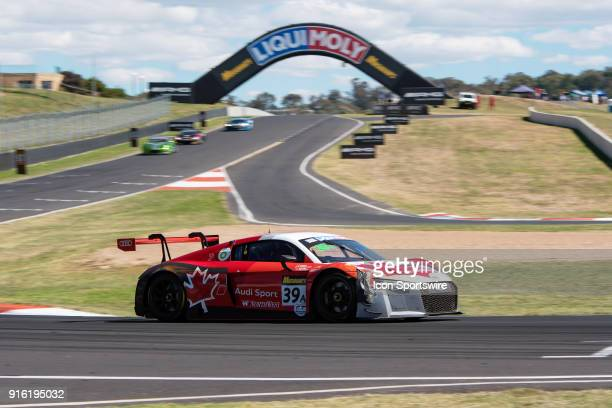 No 39 Audi Sport Team WRT Audi R8 LMS driven by Pedro Lamy / Paul Dalla Lana / Mathias Lauda / Will Davison at The LiquiMoly Bathurst 12 Hour...