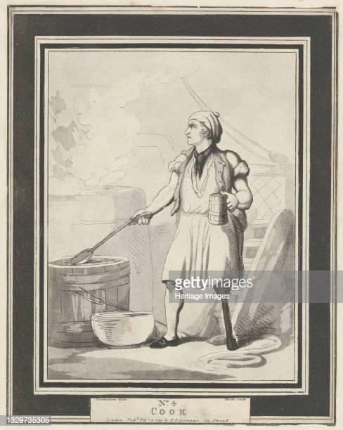 Cook, February 15, 1799. Artist Henri Merke.