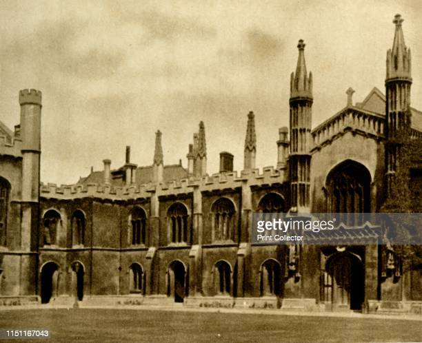 No 44 Corpus Christi College Cambridge 1923 A college of of the University of Cambridge established in 1352 From Sunripe Cigarettes A Series of 50...