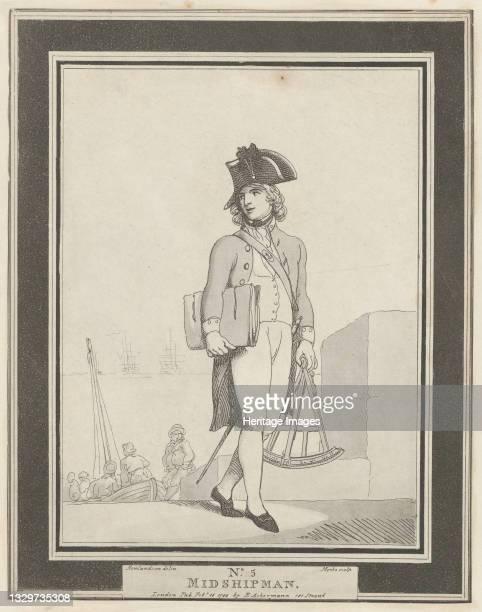 Midshipman, February 15, 1799. Artist Henri Merke.