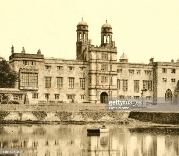 No 52 Stonyhurst College 1923 Grade I listed Roman Catholic independent school on the Stonyhurst Estate Lancashire England founded in 1593 by Father...
