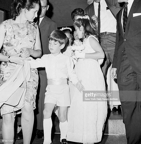 No 5yearold boy likes being called a sissy and John F Kennedy Jr is no exception But that's what he had to endure as he arrived for the wedding of...