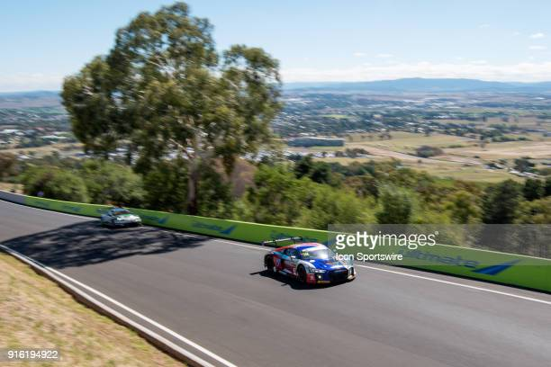 No 74 Audi Sport Customer Racing Audi R8 LMS driven by Christopher Mies / Christopher Haase / Markus Winklehock climbs the mountain at The LiquiMoly...