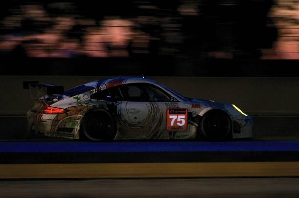 No 75 Prospeed Competition Porsche 911 GT3 RSR (997) LM GTE AM, FIA WEC Le Mans 24 Hours 2014