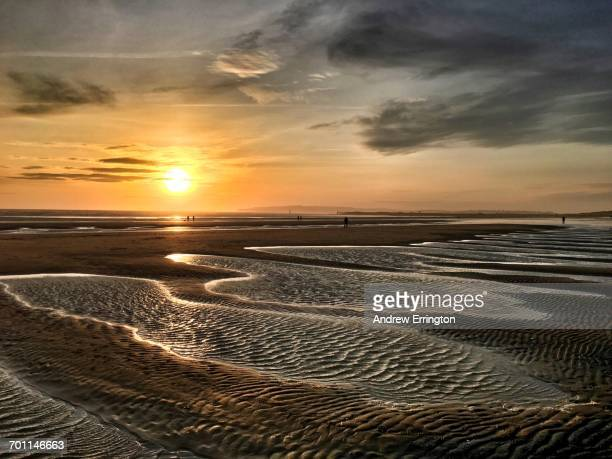 no borders - conceptual  - camber sands stock photos and pictures
