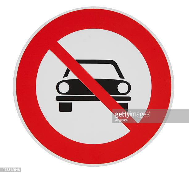 keine fahrzeuge erlaubt - verboten stock-fotos und bilder