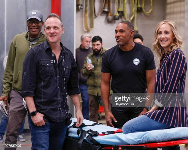 STATION 19 No Days Off While at a lunch seeking Pruitt's blessing for their relationship Andy and Sullivan jump into action when ICE attempts to raid...