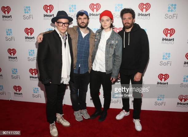 No Debt attend iHeartRadio ALTer Ego 2018 at The Forum on January 19 2018 in Inglewood United States
