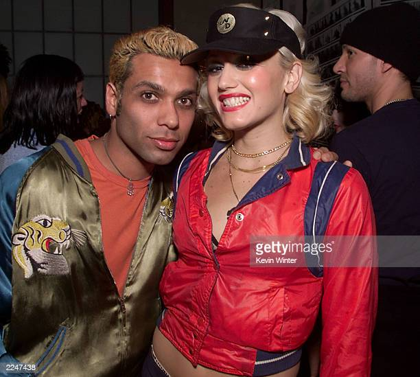 No Doubt members Tony Kanal, right, and Gwen Stefani at the My VH1 Music Awards after party at the Cafe Le Duex in Los Angeles, Thursday, November...