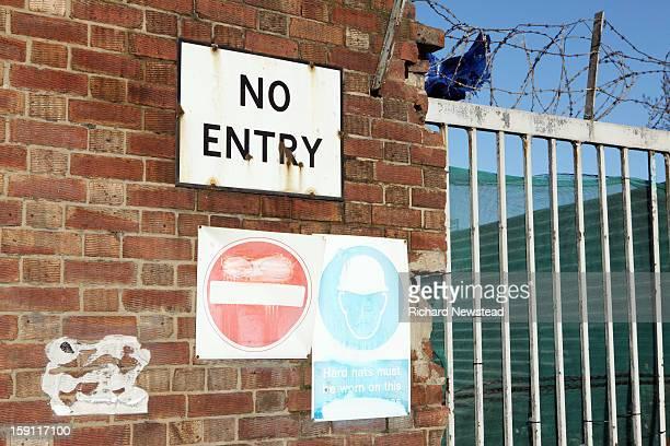 No Entry Area