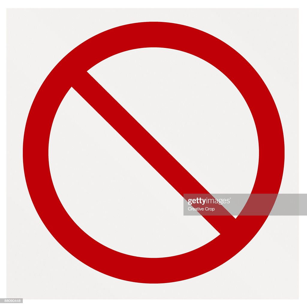 No entry sign : Stock Photo