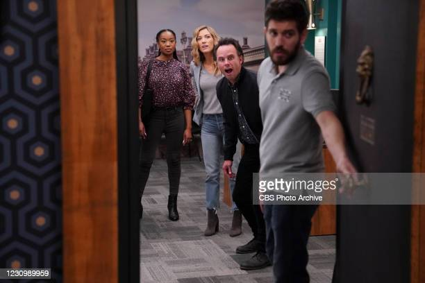 No Exit While the friends are at an escape room for a fun evening, Wade has an embarrassing slip of the tongue that creates an uncomfortable...