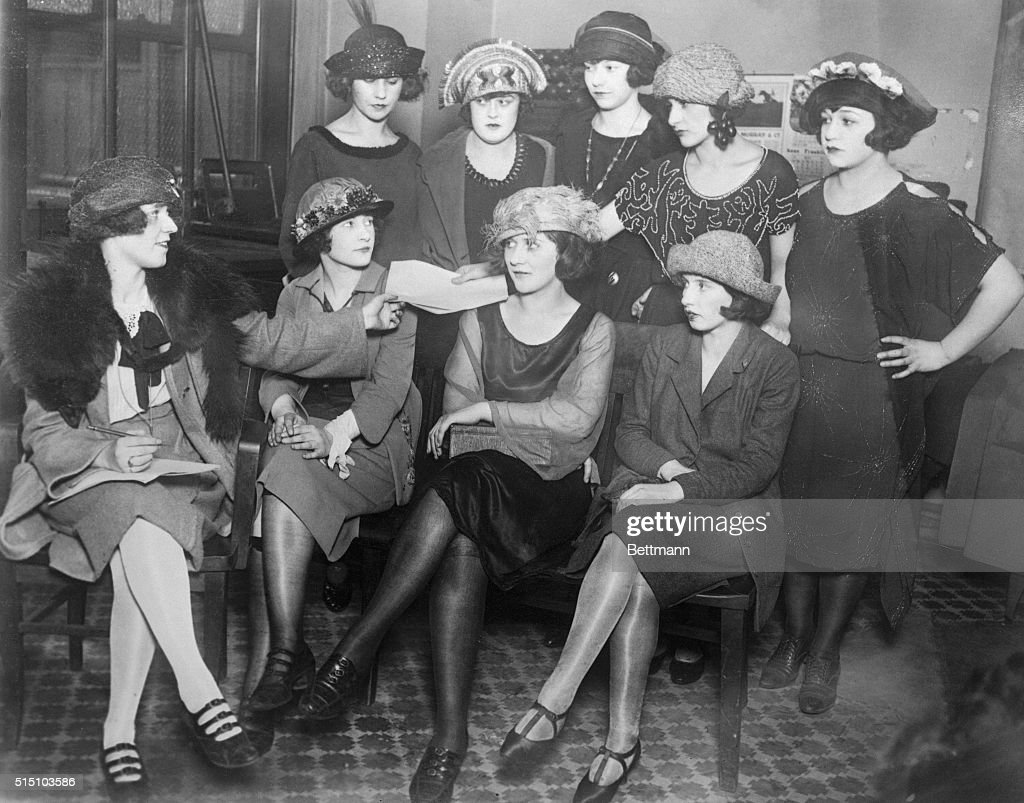 Royal Order of Flappers : News Photo