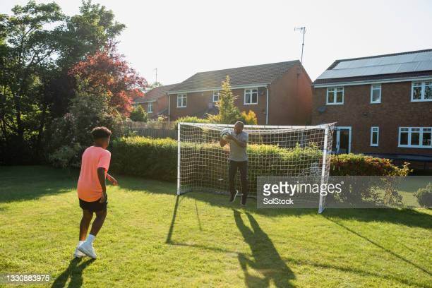 no goal! - shooting at goal stock pictures, royalty-free photos & images