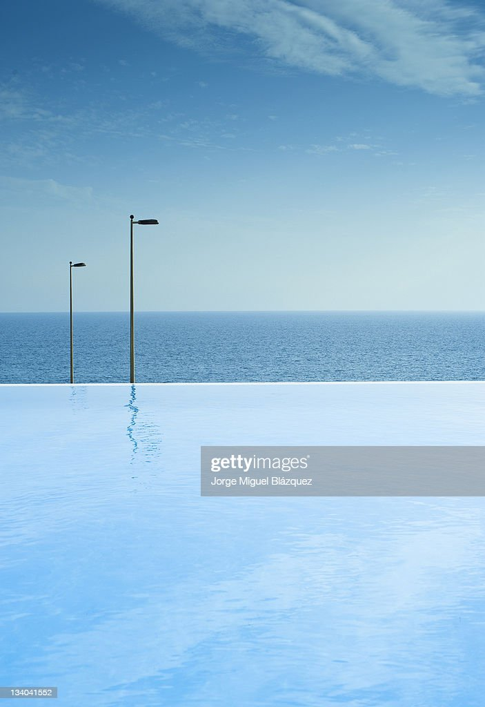 No light on horizon : Foto de stock