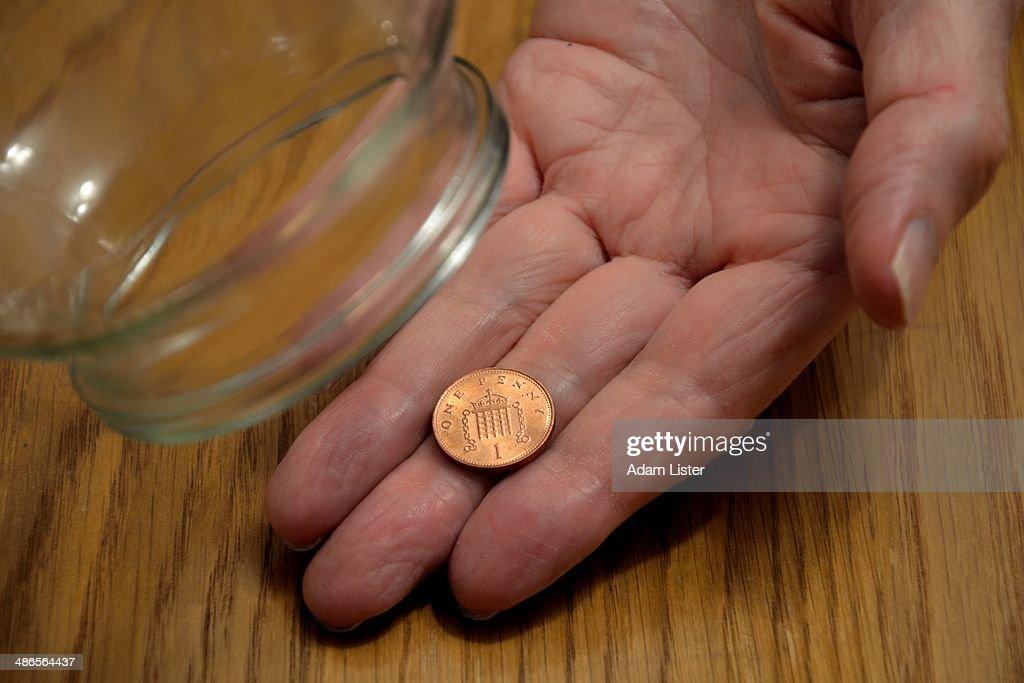 No Money Left : Stock Photo