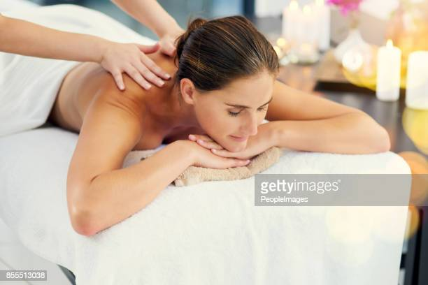 no more knots - massage stock photos and pictures
